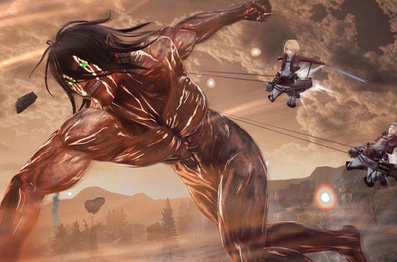 Llegan nuevas imágenes de Attack on Titan 2