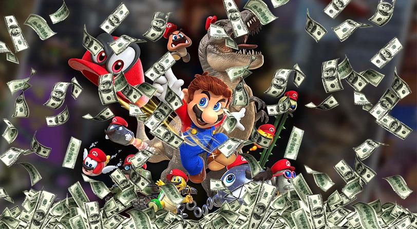 Super Mario Odyssey es el juego de la saga que más rápido se ha vendido en toda la historia