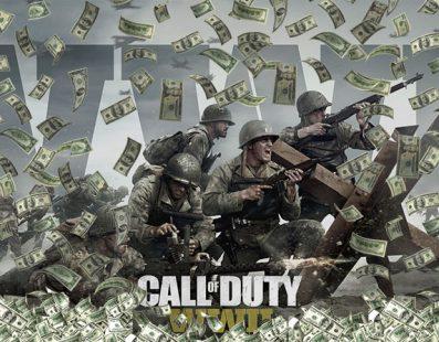 Call of Duty: WWII recauda 500 millones de dólares en sus tres primeros días a la venta