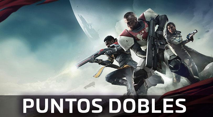 Destiny 2 tendrá puntos dobles todo el fin de semana