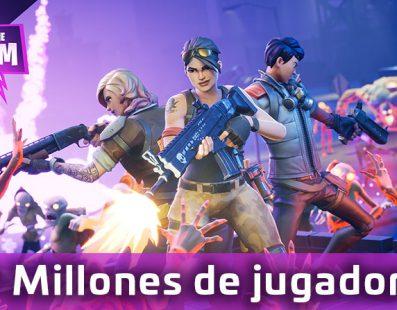 Fortnite alcanza los 20 millones de jugadores y hoy, recibe una nueva actualización
