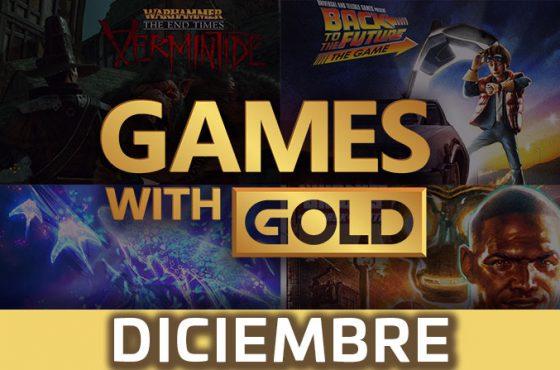 Xbox Live Gold: Juegos gratis del mes de diciembre