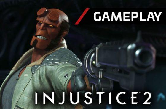 Injustice 2 enseña un gameplay de Hellboy y revela su fecha de salida en PC