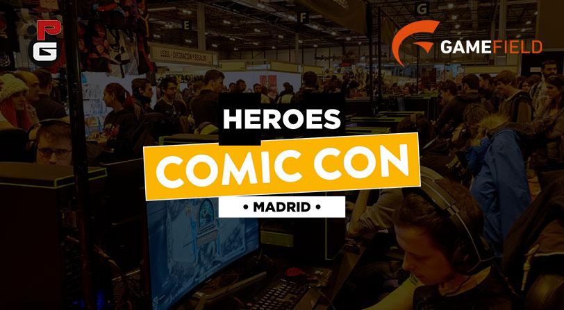 Os contamos cómo vivimos Heroes Comic Con Madrid 2017