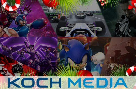 Los mejores juegos de Koch Media para estas navidades