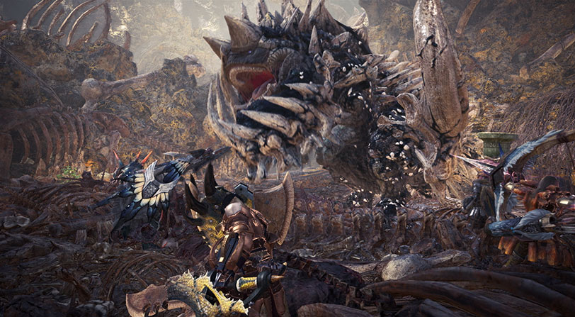 preview monster hunter world