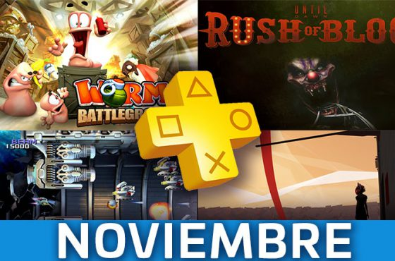 Estos son los juegos de PS Plus del mes de noviembre