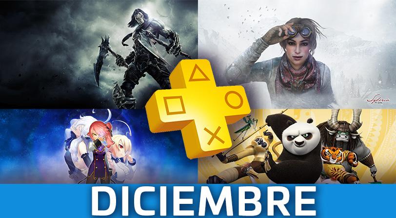 PlayStation Plus presenta sus juegos gratis de diciembre