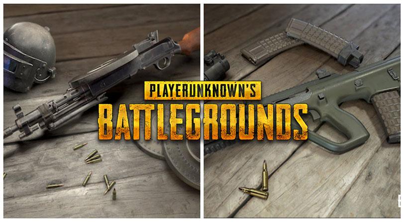 armas playerunknown's battlegrounds