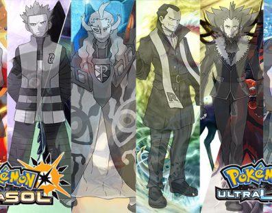 Nuevo Team Rocket y Pokémon Legendarios para Pokémon UltraSol y UltraLuna