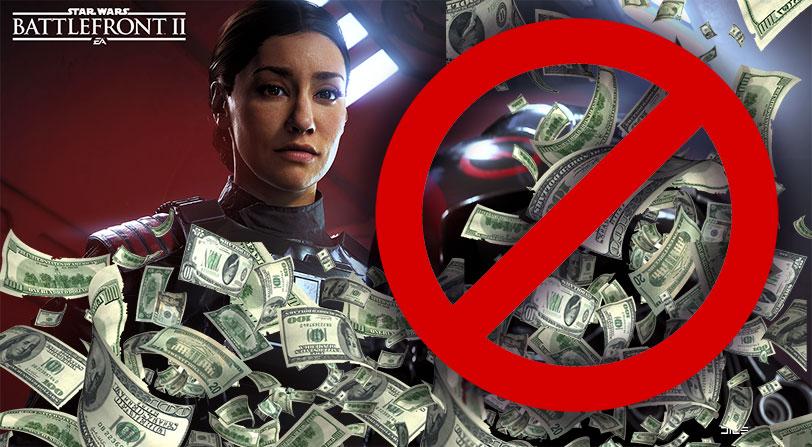 Electronic Arts elimina las microtransacciones de Star Wars Battlefront II