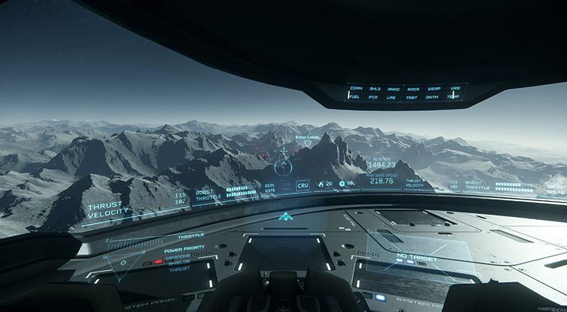 Mostrados los viajes cuánticos en el juego de Star Citizen