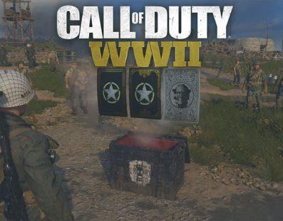 Call of Duty WWII: Así funcionan los paquetes de suministros