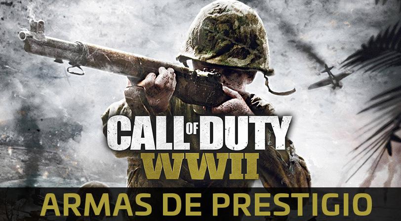Call of Duty WWII: Así son todas las armas de los prestigios de divisiones