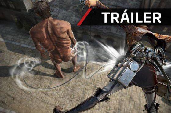 Nuevo tráiler de Attack on Titan 2 en el que muestra el derribo de los Titanes