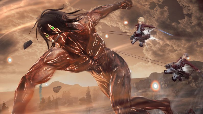 Attack on titan 2 buddy