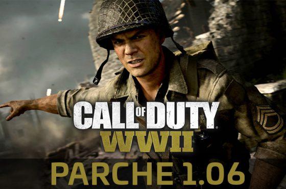 Nueva actualización para Call of Duty: WWII