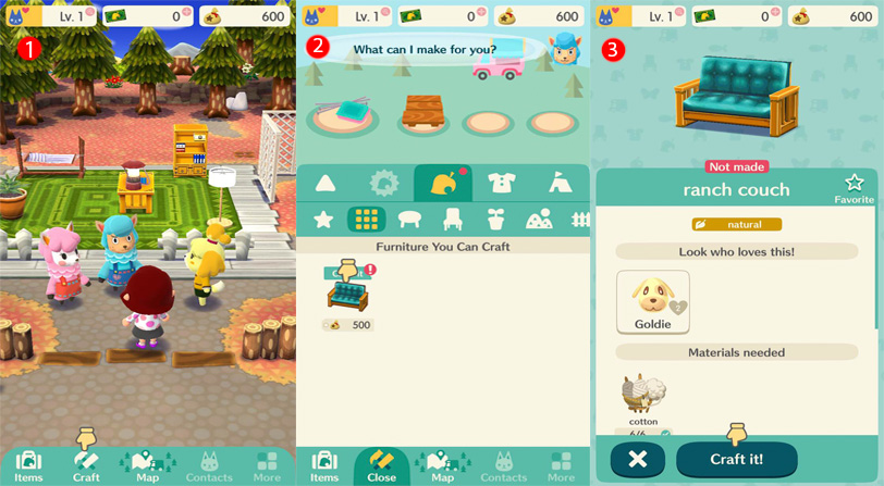 guía animal crossing pocket camp