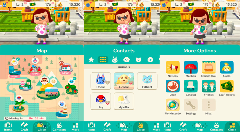 animal crossing pocket camp guía