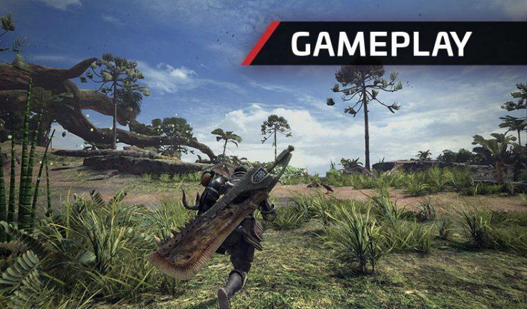 Nuevos gameplays de Monster Hunter World a dos meses de su estreno