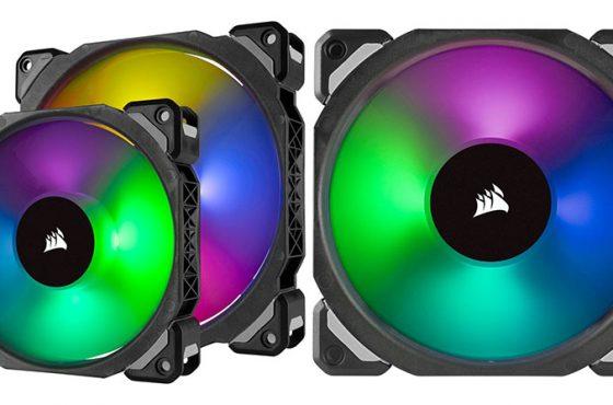 Corsair lanza una nueva gama de ventiladores de levitación magnética ML PRO RGB