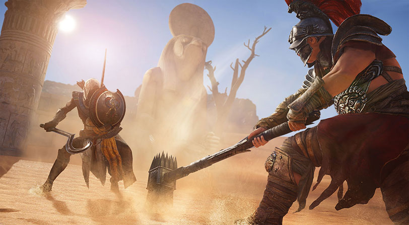 Crossover: Nueva misión de Final Fantasy XV en Assassin's Creed Origins