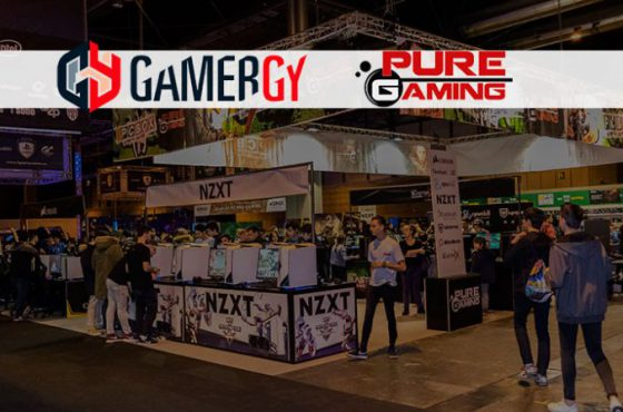 PureGaming vuelve a destacar en la Gamergy de diciembre (2017)