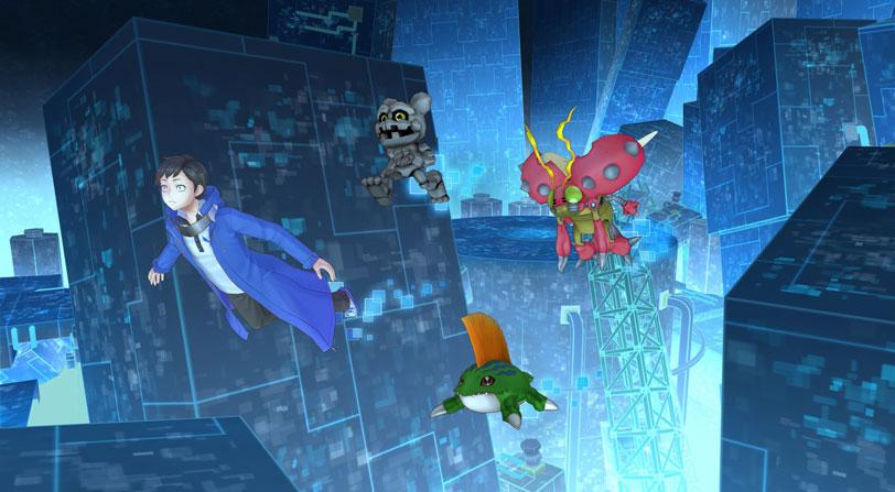 Nuevo tráiler gameplay de Digimon Story: Cyber Sleuth Hacker's Memory