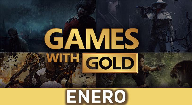 Xbox Live Gold presenta sus juegos gratuitos para el mes de enero