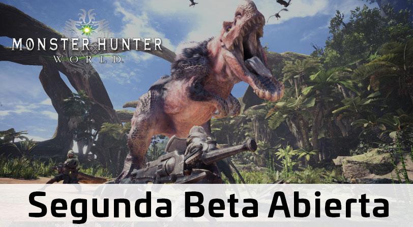 La segunda beta abierta de Monster Hunter World comienza el 22 de diciembre