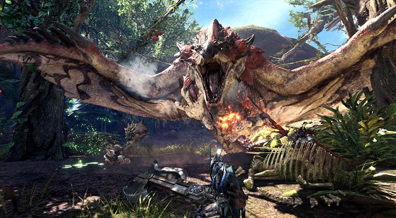 Hoy se abre la segunda beta abierta de Monster Hunter World