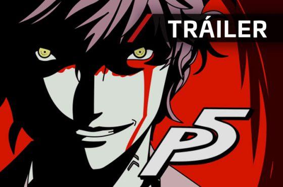 El anime de Persona 5 se deja ver en un nuevo tráiler