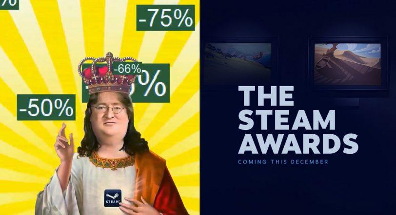 Ya están aquí las mayores rebajas de Steam de 2017 y los Steam Awards