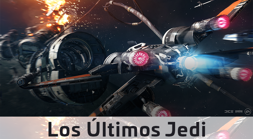 """""""Los Últimos Jedi"""" aterrizan en Star Wars Battlefront II"""