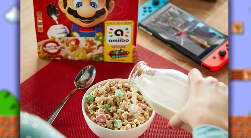 Se confirman los cereales de Super Mario