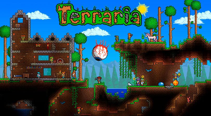 Se retrasa en lanzamiento de Terraria para Nintendo Switch