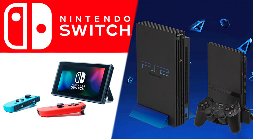 Nintendo Switch supera las ventas de PlayStation 2 en su primer año