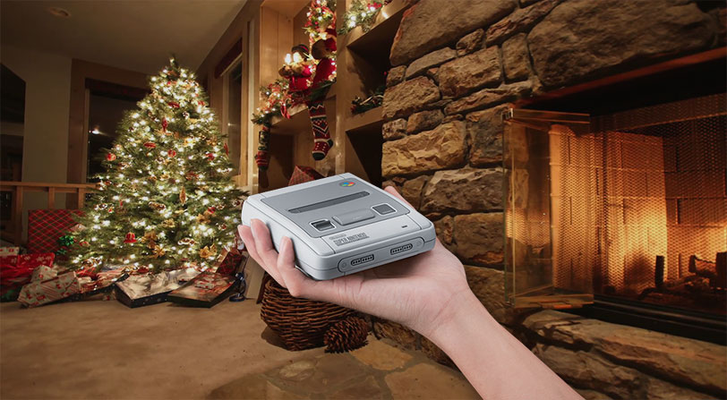 snes mini regalo padres