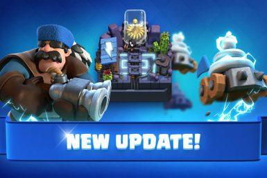Todo sobre la nueva y gran actualización de diciembre de Clash Royale