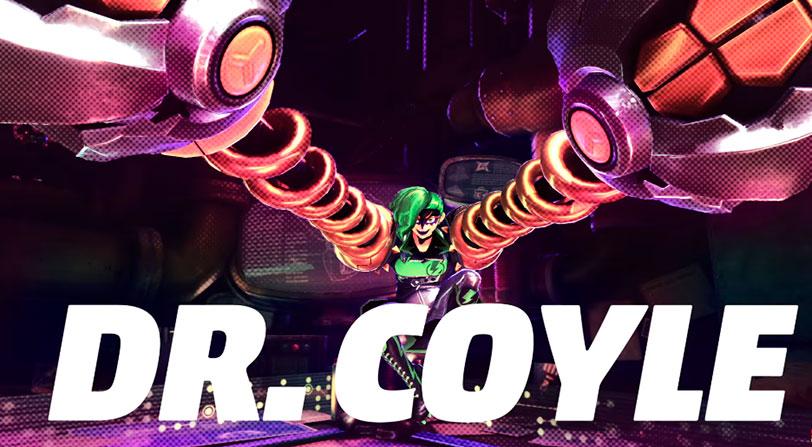 ARMS recibe a la Dra. Coyle como nueva luchadora