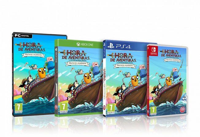 """Tenemos juego nuevo """"Hora de Aventuras: Piratas de Enchiridión"""""""