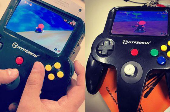 Hyperkin anuncia un prototipo de Nintendo 64 portátil