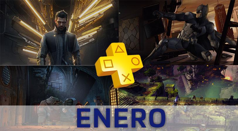Y los juegos de PlayStation Plus del mes de enero son…