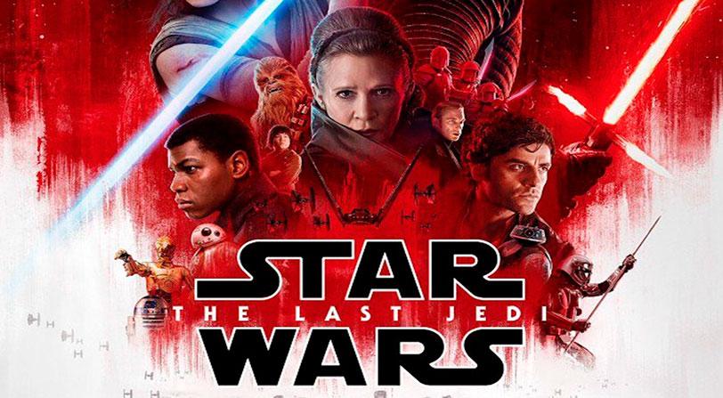 'Star Wars: Los últimos Jedi' bate récords de taquilla en su primer fin de semana
