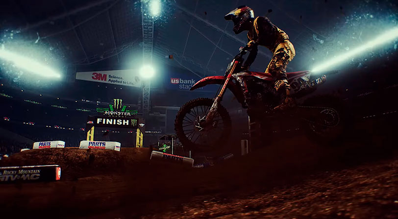 Monster Energy Supercross llegará a PC y consolas en febrero