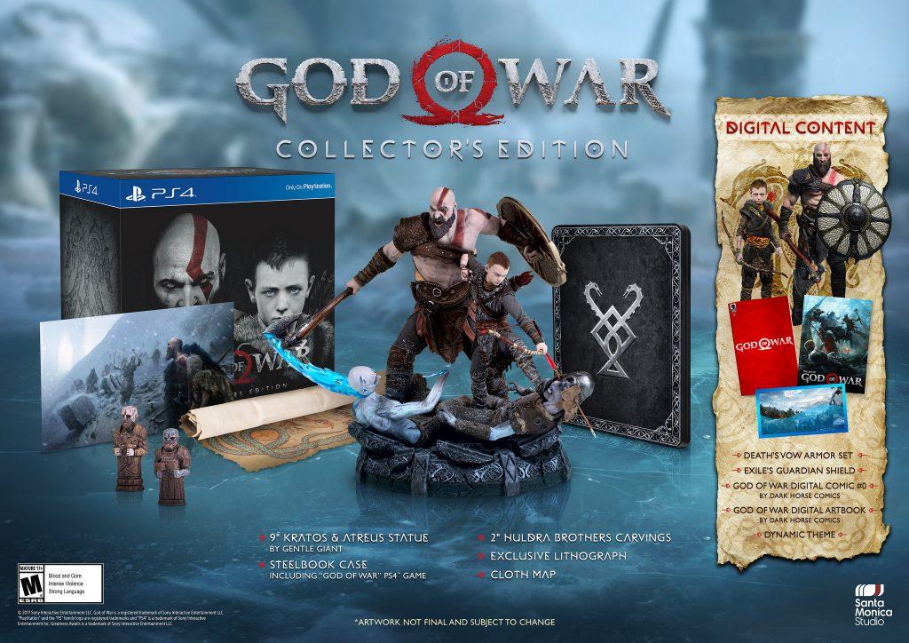 fecha lanzamiento god of war