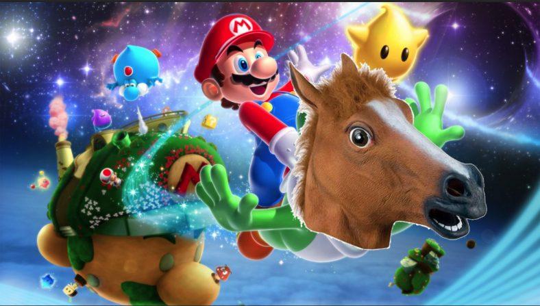 Yoshi iba a ser un caballo en un principio