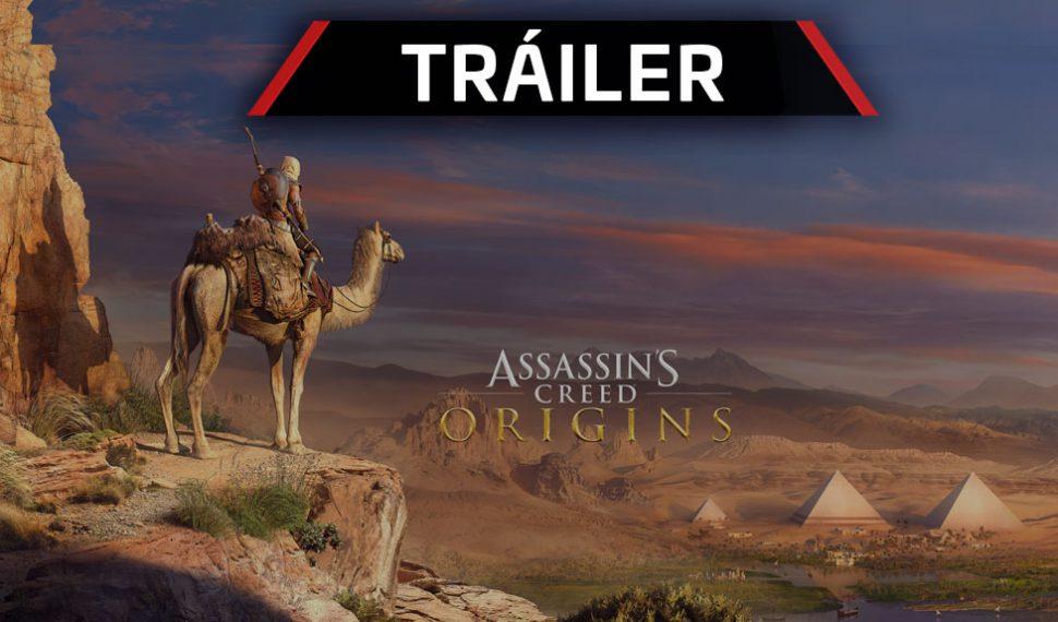 Tráiler de lanzamiento del primer DLC de Assassin's Creed Origins