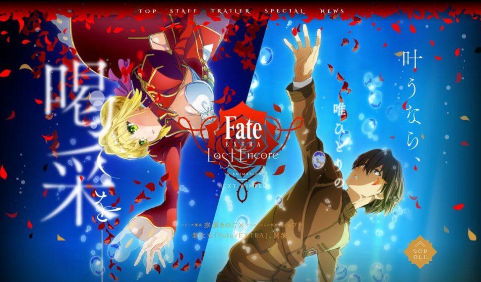 Fate/Extra Last Encore : Más Fate, más acción, más emoción