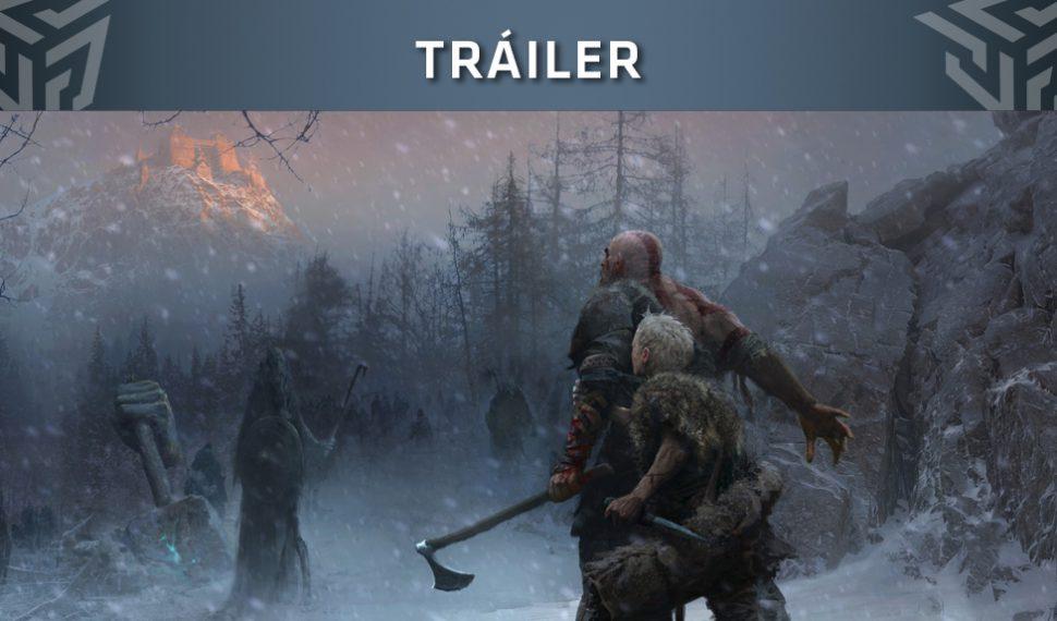 God of War ya tiene fecha de lanzamiento y tráiler de su modo historia